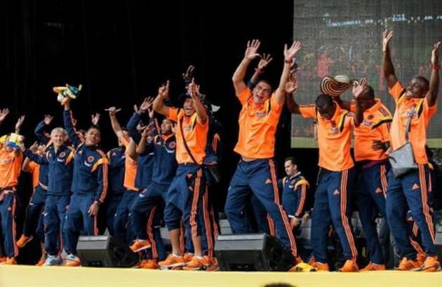 """Bienvenida de la selección colombiana con el """"Ras tas tas"""" es lo más visto de la semana"""