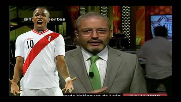 Comentarista mexicano 'rajó' de la selección peruana