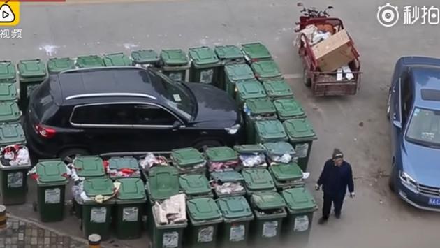 ¿Qué tal esta forma de castigar a quienes estacionan mal su auto? [VIDEO]