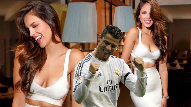 ¿Actriz mexicana es la nueva conquista de Cristiano Ronaldo?