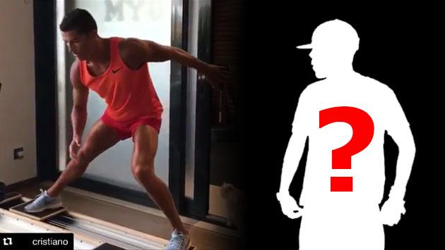 Cristiano Ronaldo y el reggaetonero que escucha mientras hace ejercicios [VIDEO]