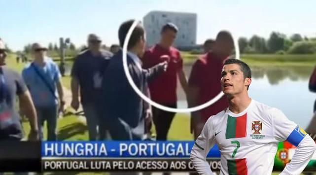 ¡Asuuu! Cristiano Ronaldo se 'loqueó' con este periodista