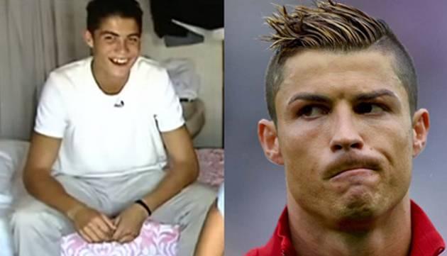 Así era la vida de Cristiano Ronaldo antes de ser famoso