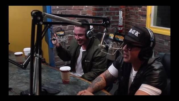 Daddy Yankee y J Balvin improvisan juntos a lo old school