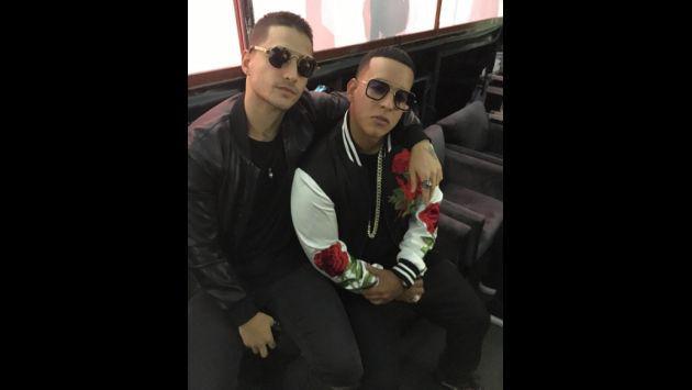 ¡Daddy Yankee, Maluma y J Balvin juntos! [FOTOS]