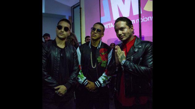 ¿Daddy Yankee, Maluma y J Balvin grabaran tema juntos?