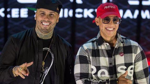 Así fue la conferencia  previa a los conciertos de Daddy Yankee y Nicky Jam como los 'Cangris'