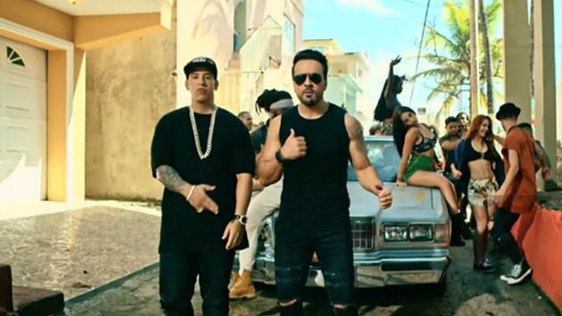 Daddy Yankee y Luis Fonsi, con 'Despacito', causaron temblor en los rankings
