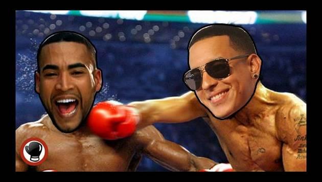 Daddy Yankee y Don Omar se enfrentan en épica batalla de rap