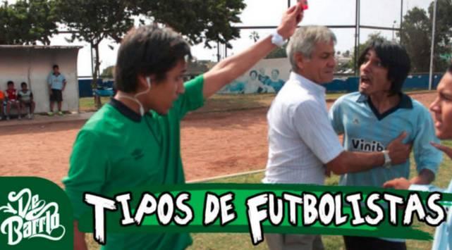 De Barrio y los tipos de futbolistas