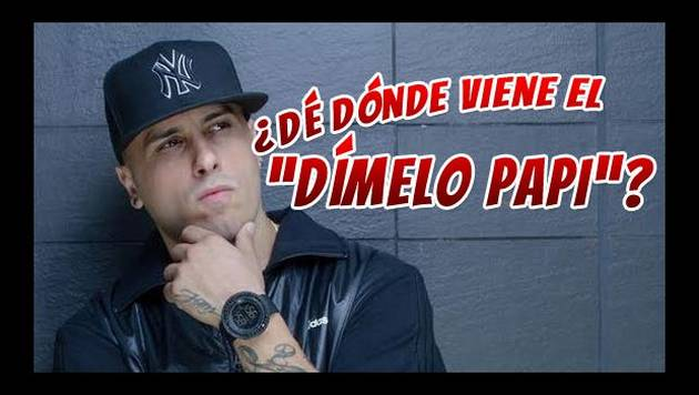 "Video: Nicky Jam revela por qué dice ""Dímelo papi"""