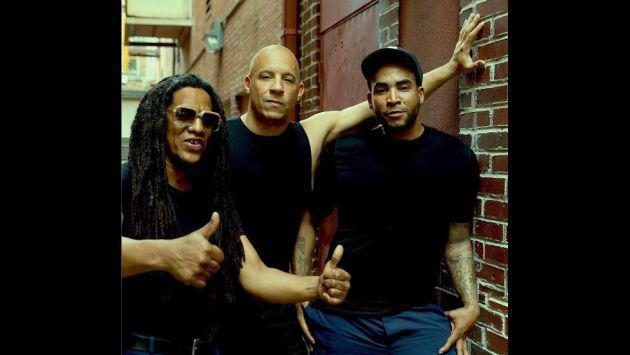 ¡Vin Diesel le dedicó este mensaje a Don Omar y Tego Calderón!