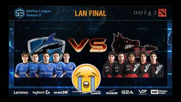 ¡Noooooo! Elite Wolves no pudo pasar a la final del WePlay de Dota 2
