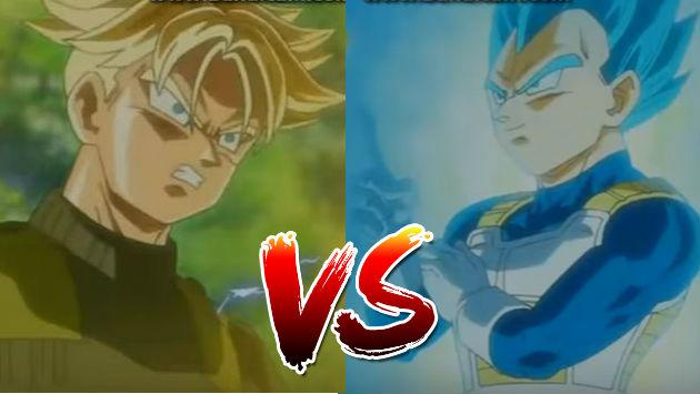 ¡Trunks del futuro vs. Vegeta en el adelanto de Dragon Ball Super!