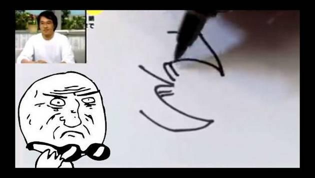 Akira Toriyama solo necesitó de un plumón para dibujar a...
