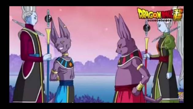 Dragon Ball Super: primera escena de Shampa