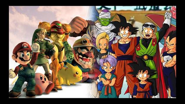 Dragon Ball Z y Super Smash Bros juntos en videojuego