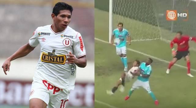 Edison Flores anotó gol de chalaca en Universitario vs. Sporting Cristal