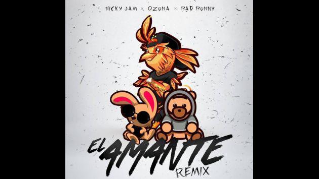 Nicky Jam anunció la fecha de estreno del remix de 'El amante'
