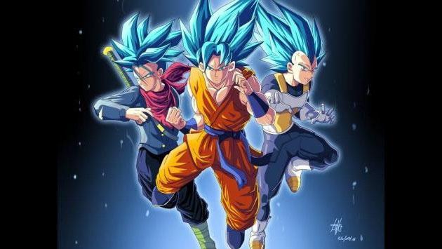 En 'Dragon Ball Super', Goku, Trunks y Vegeta se fusionarían y así se verían