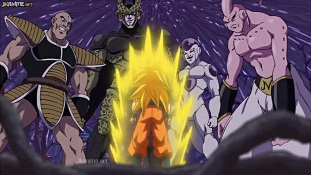 En 'Dragon Ball Super', Gokú volvió a enfrentar a Freezer, Cell y Majin Buu [VIDEO]