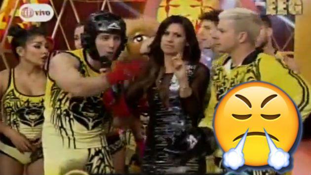 ¡María Pía Copello explotó contra este integrante de 'EEG' y la producción EN VIVO!