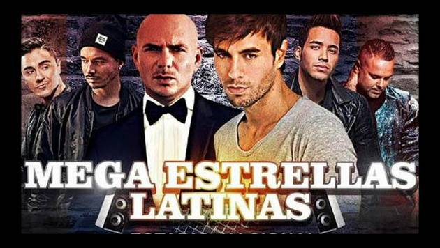 Enrique Iglesias, J Balvin y Pitbull en concierto en Lima