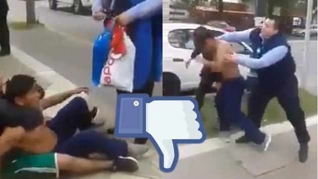 ¡Chilenos golpearon a supuesto peruano acusándolo de ladrón, pero se llevaron una sorpresa!