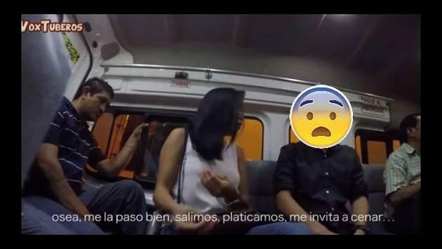Confesó en 'combi' que le era infiel con su amigo y así reaccionaron los pasajeros