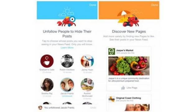 Escoge a quién o qué aparece primero en tu Facebook