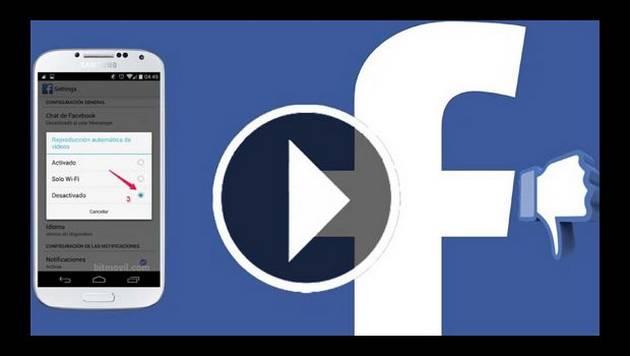 Facebook: ¿Cómo desactivo la reproducción automática de videos?