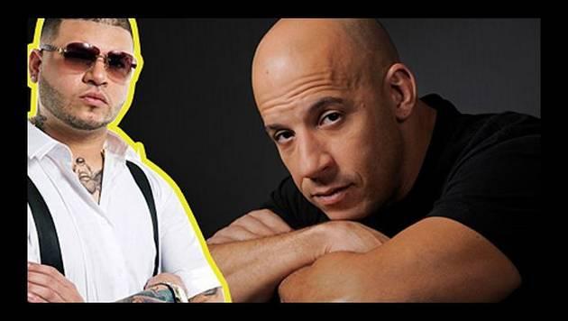 """Farruko se burla de Vin Diesel cantando """"Por un beso"""