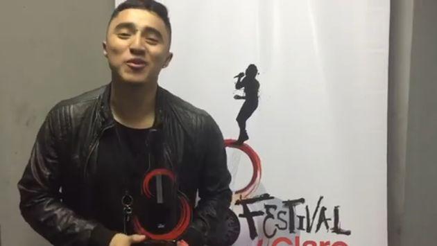 ¡Conoce a Johnny Lau, ganador del 'Festival Claro 2016'!