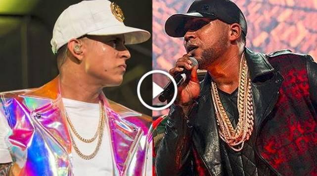 Don Omar y Daddy Yankee 'se mechan' en tremenda tiradera en vivo
