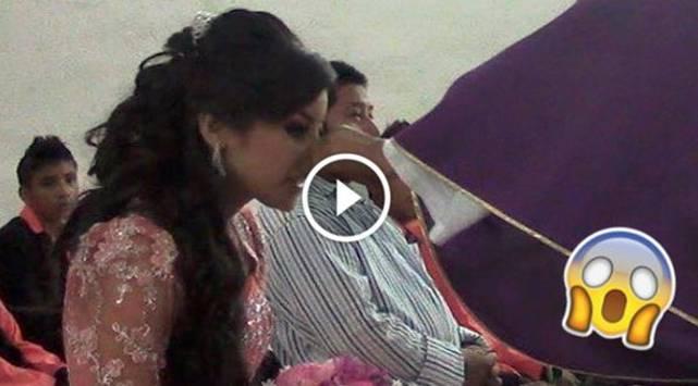 Quinceañera es humillada por sacerdote durante misa