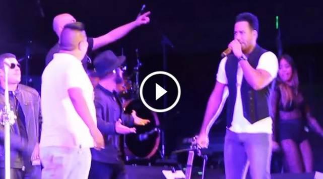 Fanático peruano se robó el show de Romeo Santos en Lima