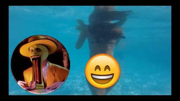 ¡Rocío Miranda aloca a sus fans sensual video en piscina!