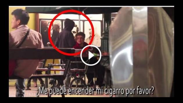 Experimento social en Lima: ¿Le encenderías un cigarro a un niño?