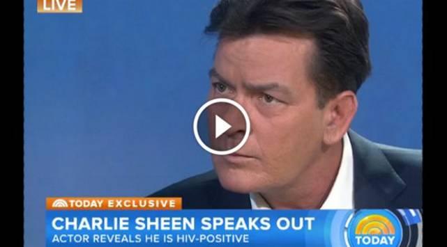 El 'tío Charlie' Sheen anuncia que tiene SIDA