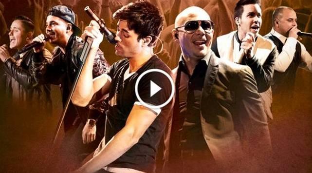 ¡Así llegarán las Mega Estrellas Latinas para el concierto que ofrecerán en Lima!