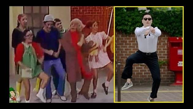 Facebook: ¿Chespirito inventó el Gangnam Style?