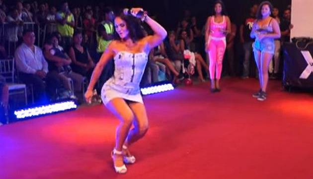 Génesis Tapia 'movió el totó' en el Gamarra Fashion Show ¡Chequea el video!