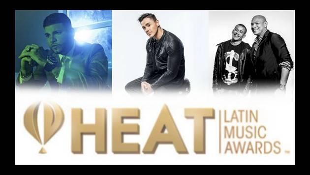 ¡¡¡Esa gente!!! Farruko, Joey Montana y Gente de Zona en los Heat Latin Music Awards