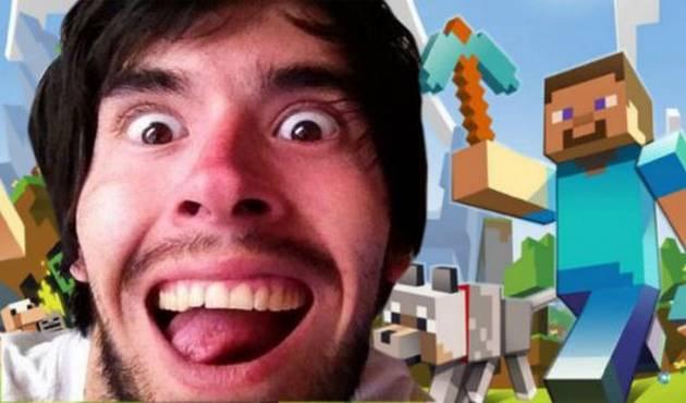 JuegaGerman es de lo más visto al jugar Minecraft