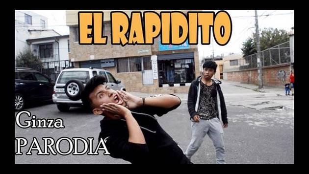 'Ginza' de J Balvin tiene otra parodia llamada 'El rapidito'