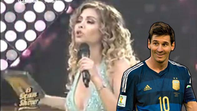 ¿Qué tiene que ver Messi? Gisela pasó roche al intentar explicar polémica de Milett Figueroa