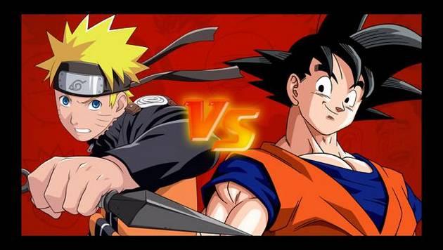 Gokú y Naruto se enfrentan en batalla de rap
