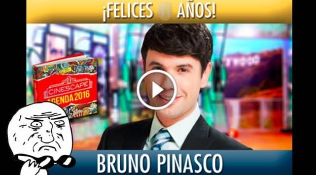 Trolean a Bruno Pinasco por su cumpleaños ¡No vas a creer cuántos cumple!