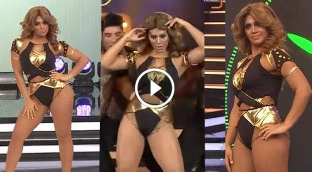 Vania Bludau imitó a Jennifer Lopez y presentó este baile sensual