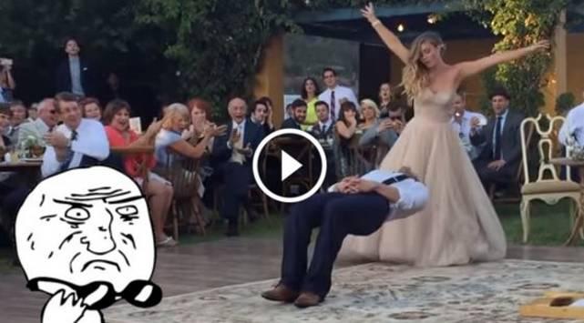 ¡Baile mágico! Este novio levitó el día de su boda